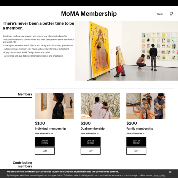 MoMA Membership | Join today
