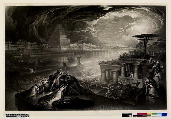 John Martin The Fall of Babylon