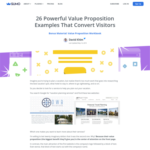 26 Powerful Value Proposition Examples That Convert Visitors