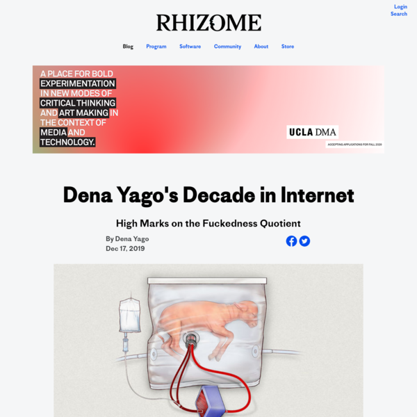 Dena Yago's Decade in Internet