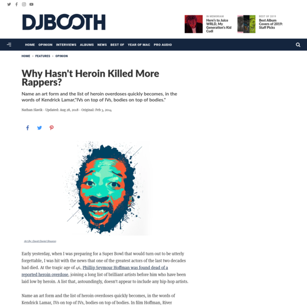 Why Hasn't Heroin Killed More Rappers?