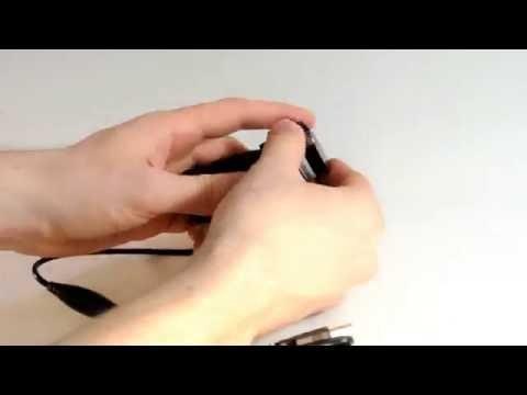 Biotic Games Step 1 - Disassemble webcam