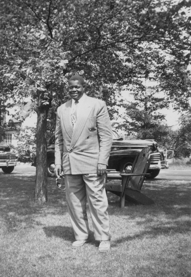 Oscar Peterson as a 20 year old, at the Hamilton Infirmary in 1945