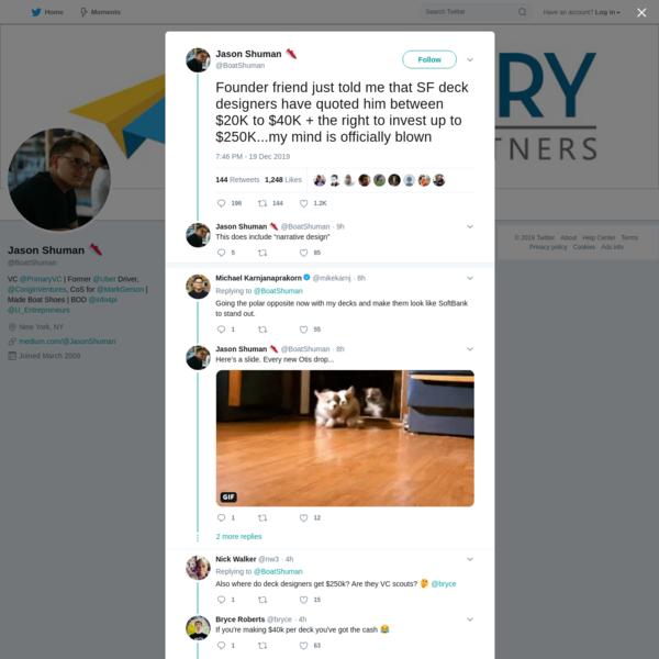 Jason Shuman 👟 on Twitter