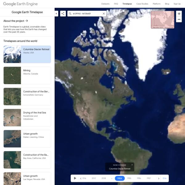 Timelapse - Google Earth Engine