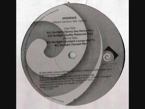 Eminence Wayne Gardiner feat. Karina - Sunlight (The Rewerk)