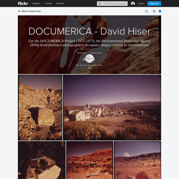 DOCUMERICA - David Hiser