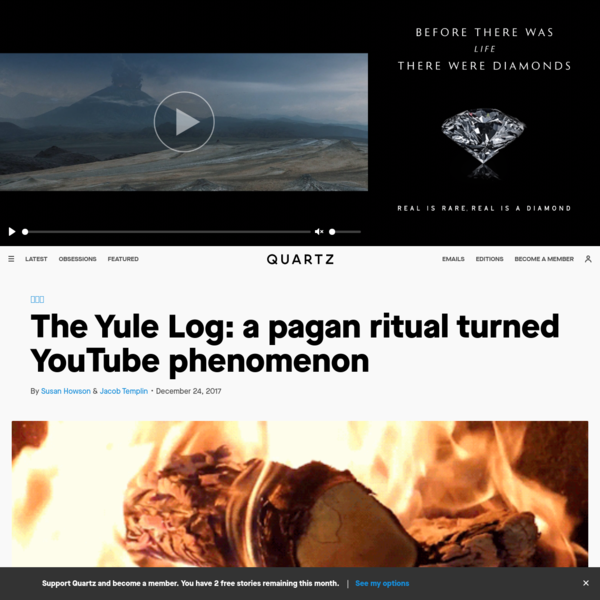 The Yule Log: a pagan ritual turned YouTube phenomenon