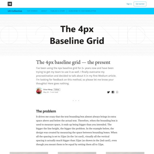 The 4px baseline grid-the present