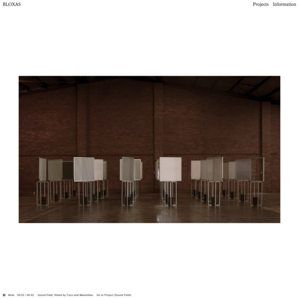 BLOXAS - Architecture