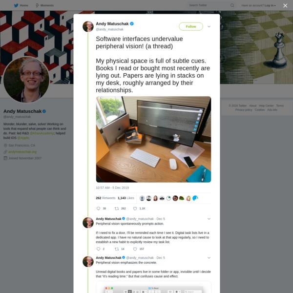 Andy Matuschak on Twitter