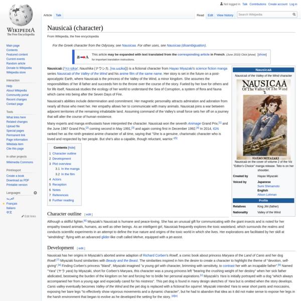 Nausicaä (character)