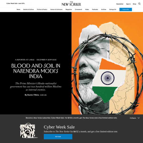 Blood and Soil in Narendra Modi's India