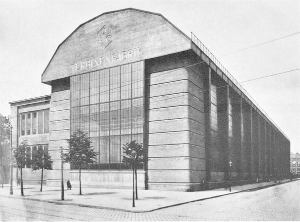 AEG Turbine Hall, Peter Behrens