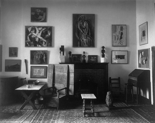 Arensberg's apartment (almost artist)
