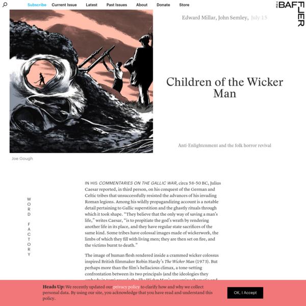 Children of the Wicker Man | Evan Millar and John Semley