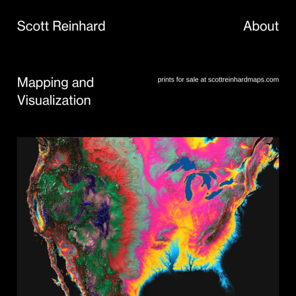 Mapping and Visualization - Scott Reinhard