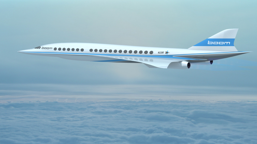 It's been twelve-and-a-half years since the Concorde retired, and we haven't seen a viable supersonic passenger jet since, though not for want of trying. Many outlandish concepts have been proposed, and some feasible designs supported by major aerospace companies like Airbus are also in the works. And now there's this.