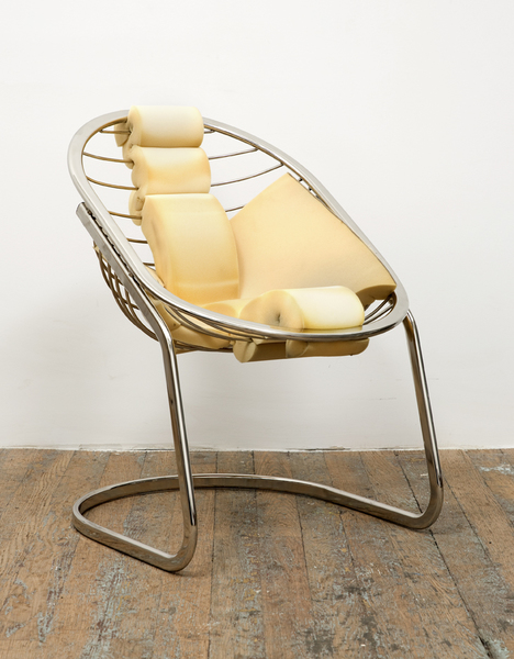 "Jessi Reaves_""Butter Egg Chair"""