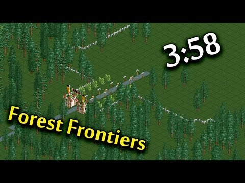 RCT 1 | Speedrun: Frontier Forest in 3:58