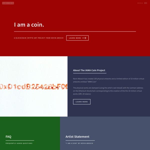 I am a coin.