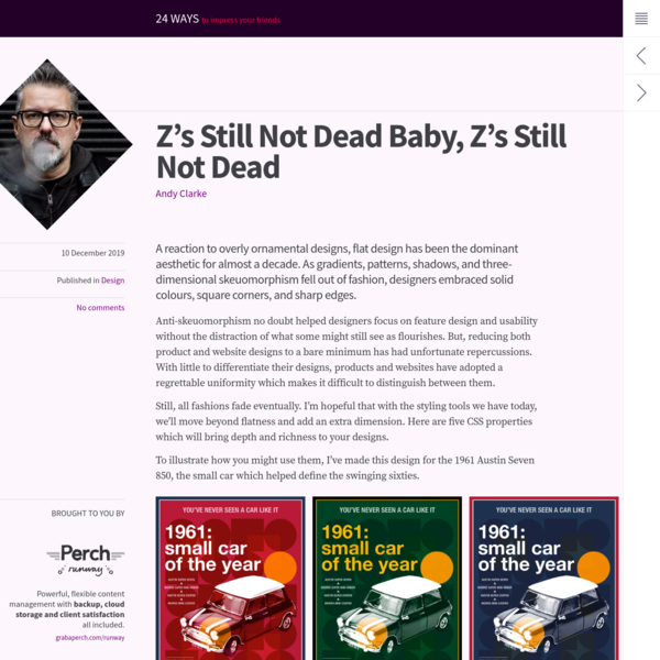 Z's Still Not Dead Baby, Z's Still Not Dead