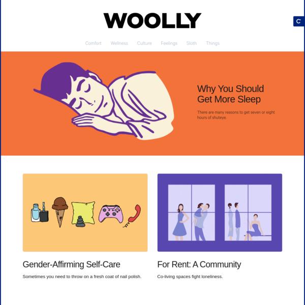 Woolly Magazine -