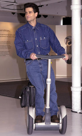 Dean Kamen, inventor of the Segway
