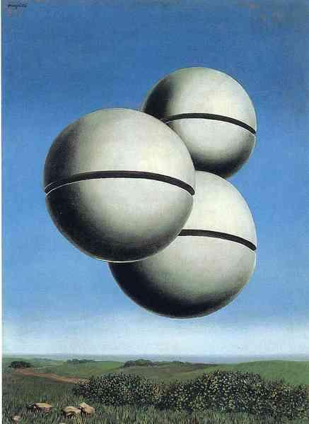 La Voix Des Airs, by René Magritte