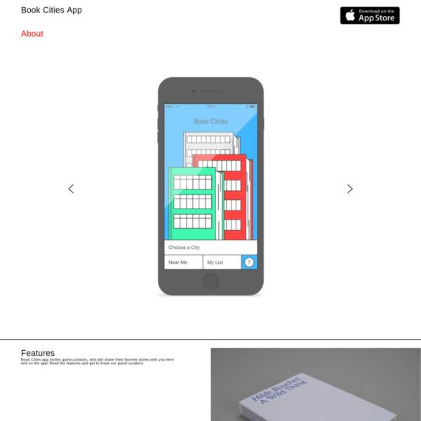 Book Cities App