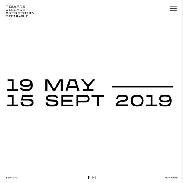 Fiskars Village Art & Design Biennale 2019