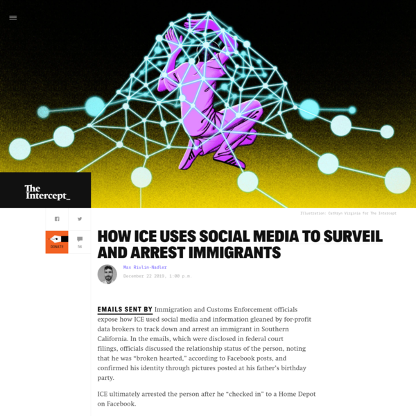How ICE Uses Social Media to Surveil and Arrest Immigrants