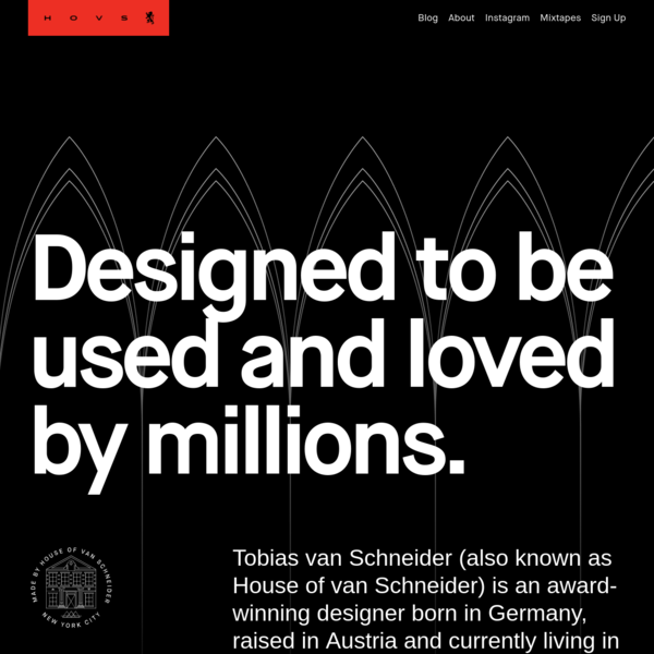 Tobias van Schneider - Design & Creative Direction