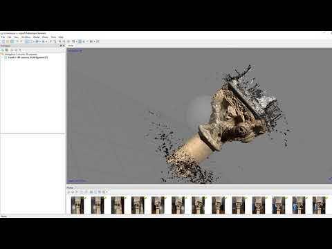 Photogrammetry demo in Agisoft Metashape