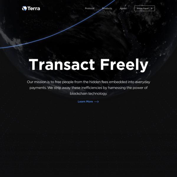 TERRA - Decentralized Stablecoin