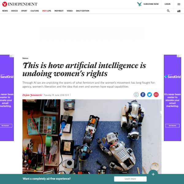 Opinion: This is how artificial intelligence is undoing women's rights