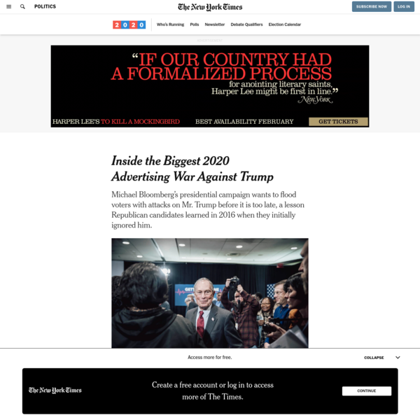Inside the Biggest 2020 Advertising War Against Trump