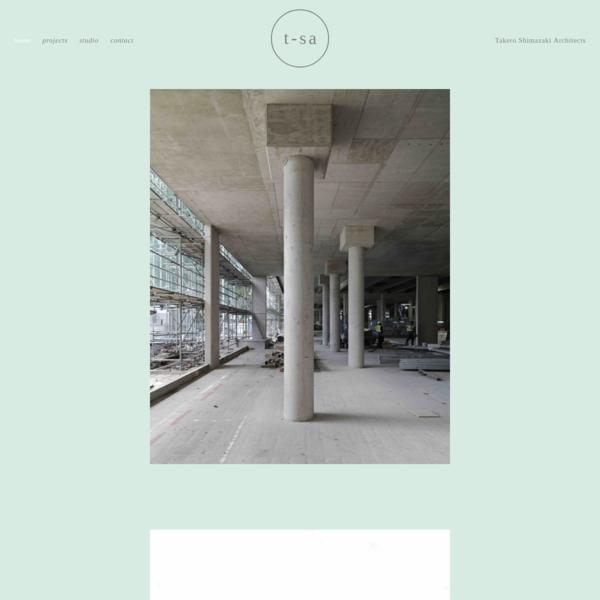 Takero Shimazaki Architects
