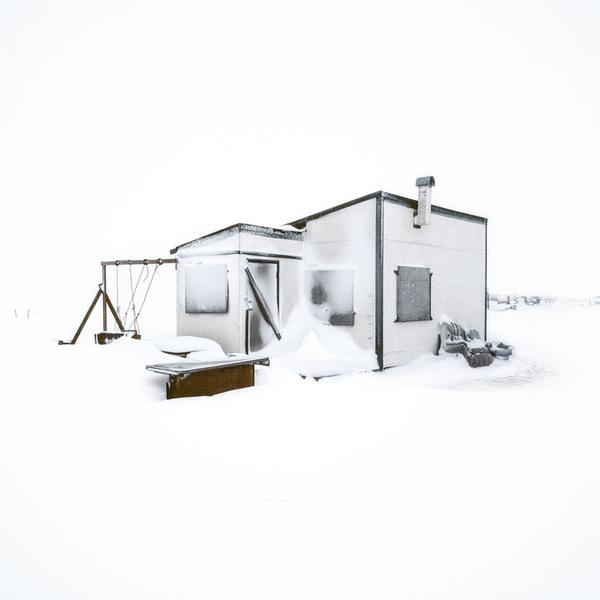 Escimo hunting cabin