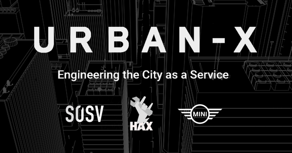 The Urban Technology Accelerator by MINI and HAX | Urban-X