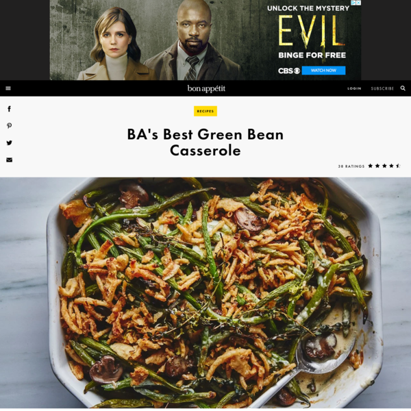 BA's Best Green Bean Casserole Recipe
