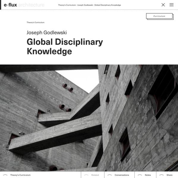 Global Disciplinary Knowledge