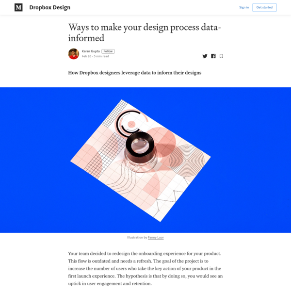 Ways to make your design process data-informed