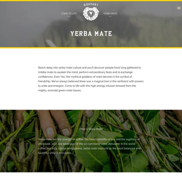 Yerba Mate - Guayakí Yerba Mate
