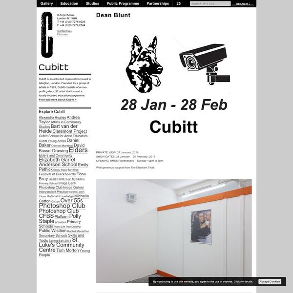 Dean Blunt - Cubitt Artists