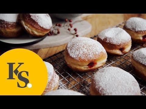 Jelly doughnuts | Classic Dessert Recipe | New Year Celebration