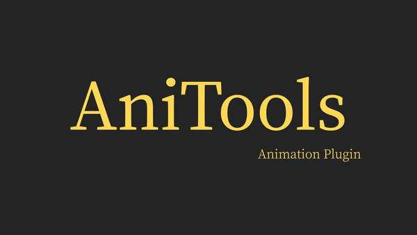 AniTools:Plugin Overview