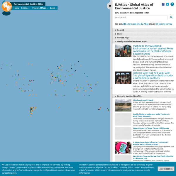 EJAtlas | Mapping Environmental Justice