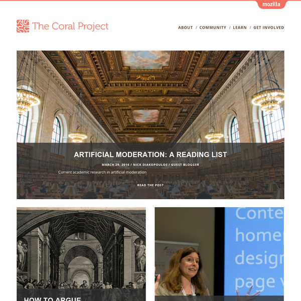 The Coral Project