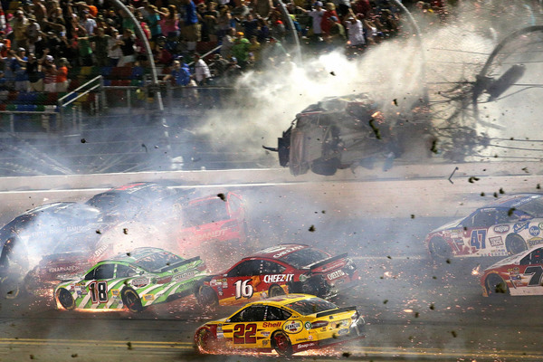 NASCAR Sprint Cup Series Coke Zero 400 Powered by Coca-Cola at Daytona International Speedway on July 6, 2015 in Daytona Beach, Florida. (Photo by Patrick Smith/Getty Images)
